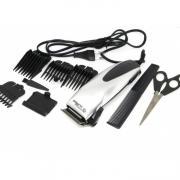 машинка для стрижки волос от сети с 4-я насадками, ножницами и расческой SP-4600