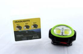 Налобный фонарь BL 0520 COB + Laser (120) упак.60шт.
