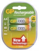 Аккумулятор GP Rechargeable R-6 1300mAh (HR6,size AA,NiMN)