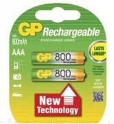 Аккумуляторы GP HR03/AAA 800mAh 2шт/блистер (Цена указана за 1шт)