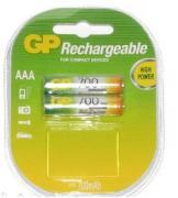 Аккумуляторы GP HR03/AAA 700mAh 2шт/блистер (Цена указана за 1шт)