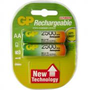 Аккумулятор GP Rechargeable HR-6 2500mAh (HR6,size AA,NiMN) (2шт/20шт/1000шт)