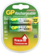 Аккумулятор GP Rechargeable R-6 2700mAh (HR6,size AA,NiMN)Цена за 1шт