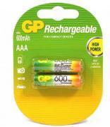 Аккумуляторы GP HR03/AAA 600mAh 2шт/блистер (Цена указана за 1шт)