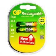 Аккумуляторы GP HR03/AAA 650mAh 2шт/блистер (Цена указана за 1шт)