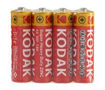 Батарейка солевая KODAK R6/AA 4шт/пленка (Цена указана за 1шт)