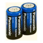 Батарейка солевая Panasonic R14P/C 2шт/пленка (Цена указана за 1шт)