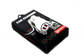Адаптер Car 2 USB QC 3.0 SY (6A) 681 (200) в уп.200шт.