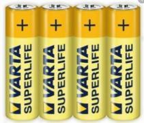 Батарейка солевая VARTA R6/AA 4шт/пленка (Цена указана за 1шт)