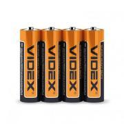 Батарейка солевая Videx R6P/AA 4шт/пленка (Цена указана за 1шт)