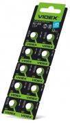 Батарейка VIDEX ALKALINE AG3 LR41 1.5V Цена за 10шт