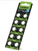Батарейка VIDEX ALKALINE AG8 LR1120 1.5V  Цена за 10шт