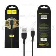 USB Кабель Hoco micro X20 черный