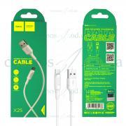 USB Кабель Hoco micro X25 белый