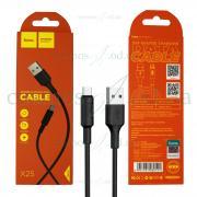 USB Кабель Hoco micro X25 черный